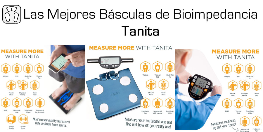 Mejores basculas bioimpedancia Tanita