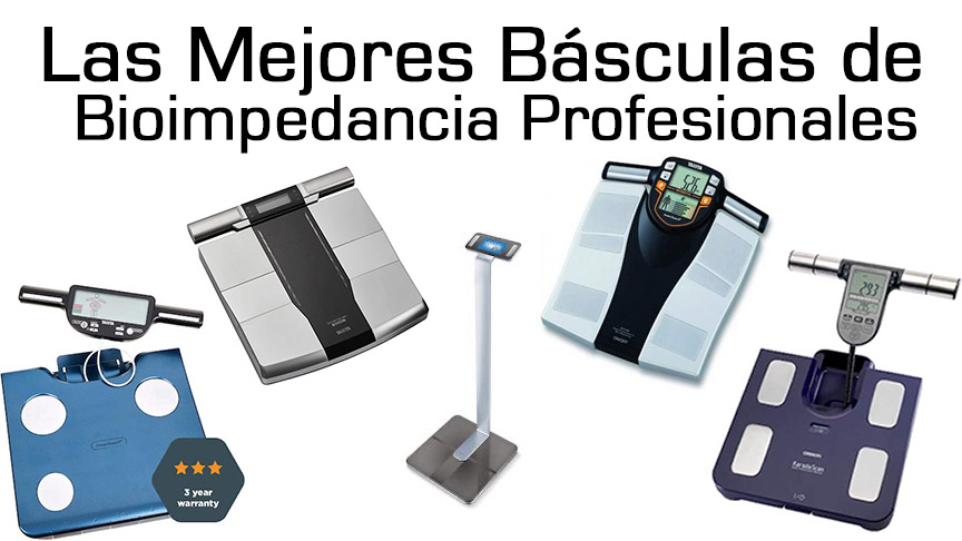 báscula bioimpedancia profesional
